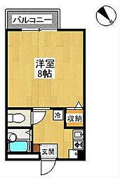 リビン[1階]の間取り