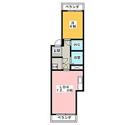大脇ビル[3階]の間取り