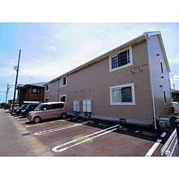 静岡県藤枝市水守の賃貸アパートの外観