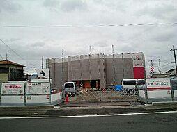 静岡県富士市森島字西側の賃貸アパートの外観