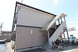 新潟県新潟市中央区鐙2丁目の賃貸アパートの外観