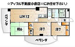高田ツイン[4階]の間取り