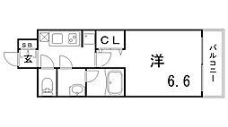 ファーストフィオーレ神戸湊町[4階]の間取り