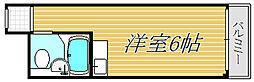 荻窪スカイレジテル[1階]の間取り