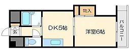 上新庄駅前グランドハイツ北[3階]の間取り