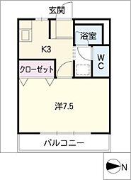 グレースKANIE[2階]の間取り