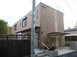 兵庫県姫路市飾磨区恵美酒の賃貸アパートの外観