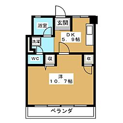 UR富吉第2[2階]の間取り