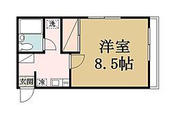 高橋ハイツII[2階]の間取り