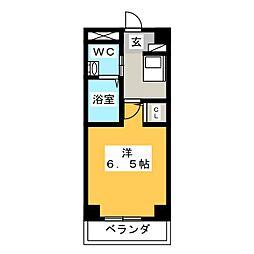 八事ガーデンヒルズ[6階]の間取り