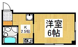 ハイムマキ[3階]の間取り