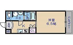 サルボサーラ[10階]の間取り