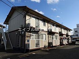 岡山県倉敷市西富井丁目なしの賃貸アパートの外観