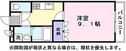 マコズ・アベニュー[1階]の間取り