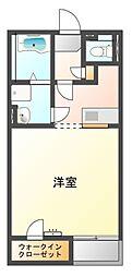 兵庫県加古郡播磨町古田3丁目の賃貸アパートの間取り