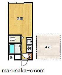 レモンホームIII[206号室]の間取り