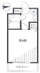 クリオ妙蓮寺壱番館[4階]の間取り