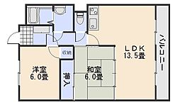 ヨシハラビル[2階]の間取り