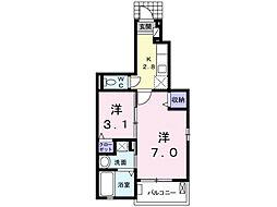 KESHIKI[1階]の間取り