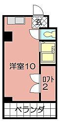 ロフトマンション本城東[205号室]の間取り