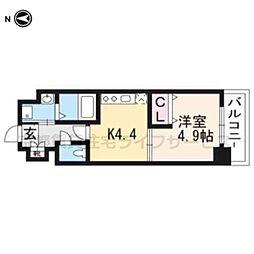 仮称)アクアプレイス京都洛南II203[2階]の間取り