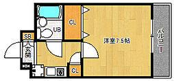 「ホーユウコンフォルト京都田辺」[3階]の間取り