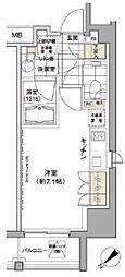 東京都渋谷区渋谷3丁目の賃貸マンションの間取り