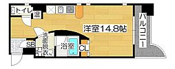 LUMOII天満[3階]の間取り