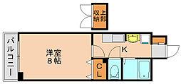 パークステージ箱崎[10階]の間取り