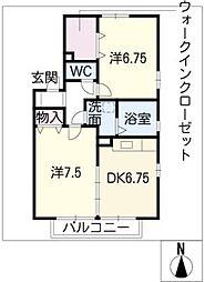 モアエクセレンス A棟[1階]の間取り