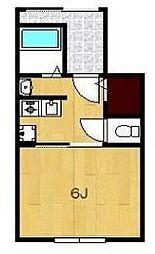 ウィンフィールドC[1階]の間取り