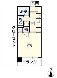 第5庭園ビル[2階]の間取り