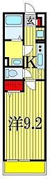 リブリ・yuukiII[1階]の間取り