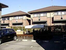 群馬県高崎市上並榎町の賃貸アパートの外観