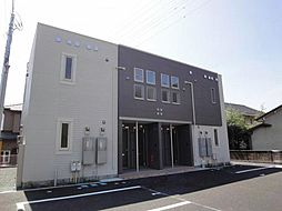 千葉県君津市大和田2丁目の賃貸アパートの外観
