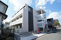 神奈川県厚木市南町の賃貸アパートの外観