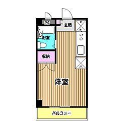 第3エステート吉武[4階]の間取り