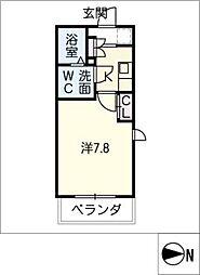 SOLEIL神宮[4階]の間取り