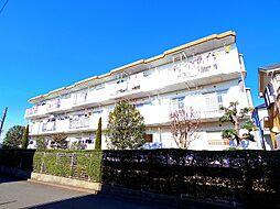 東京都東村山市野口町3丁目の賃貸マンションの外観