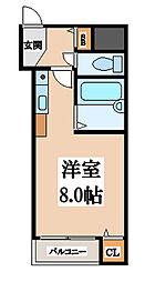 CTビュー小阪[7階]の間取り