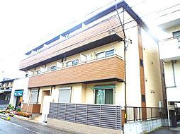 埼玉県川口市仲町の賃貸アパートの外観