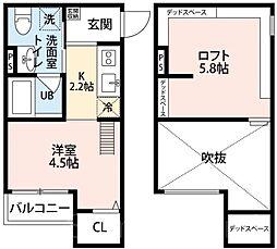 Secretariat(セクレタリアト)[1階]の間取り