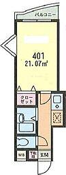 シルクガーデン馬絹[4階]の間取り