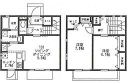 [テラスハウス] 東京都狛江市和泉本町3丁目 の賃貸【/】の間取り