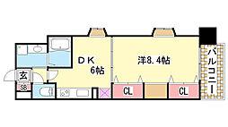 KAISEI神戸海岸通第2[6階]の間取り