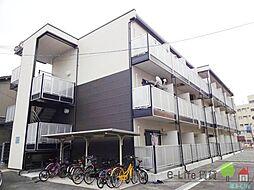大阪府大阪市住吉区長居西2丁目の賃貸マンションの外観