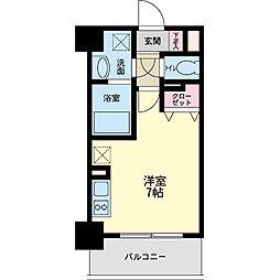 パシフィックレジデンス神戸八幡通[0404号室]の間取り