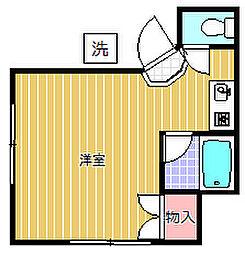 デ・エスポワール[1階]の間取り