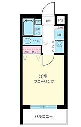 東京都大田区田園調布1丁目の賃貸マンションの間取り
