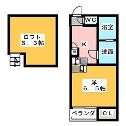SHI-SHI[1階]の間取り